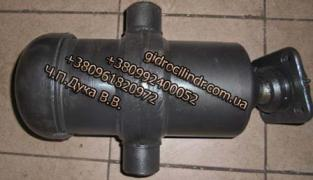 Lift cylinder body ZIL-5x rod with the clip is oblong
