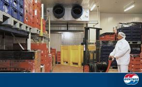 Промислова замороження продуктів, овочів, фруктів, напівфабрикат