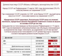 The people voted for the USSR, and some kind of CIS appeared