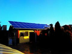 The solar battery is available (sale, installation, maintenance)